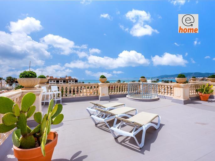 À vendre. Penthouse à Palma Majorque (Esp) 155m2, 4 chambres